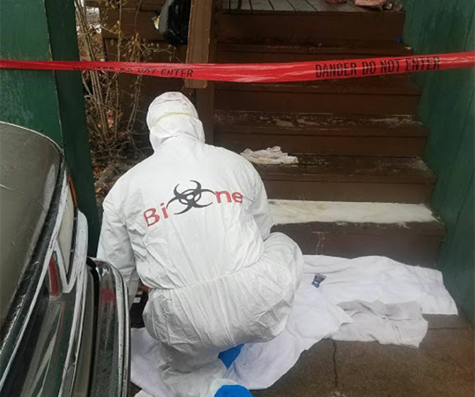 THE AFTERMATH OF HOMICIDE CLEANUP